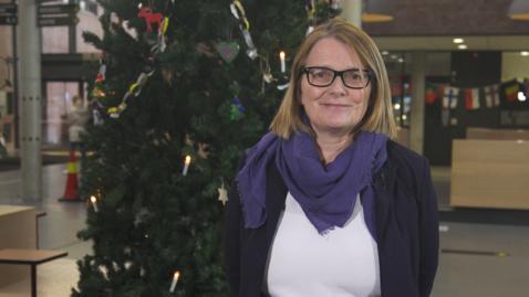 Thumbnail for entry Christmas greetings from Rector Sunniva Whittaker - 2019