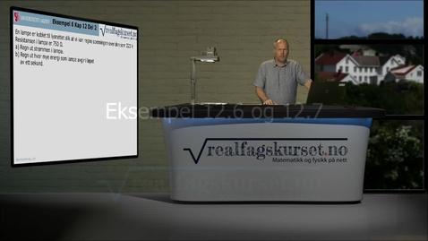 Thumbnail for entry Eksempel 12.6 og 12.7
