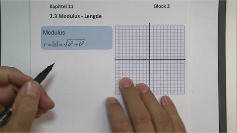 Thumbnail for entry Kapittel 11 2.3 Modulus (Lengde)