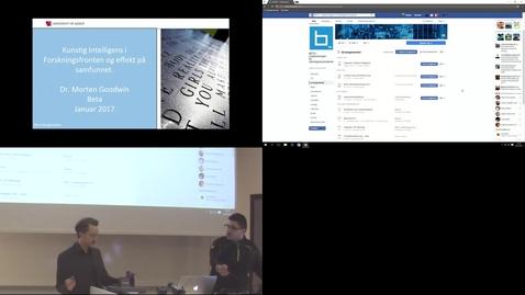 Thumbnail for entry Fagkveld AI  - 1/18/2017