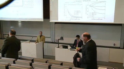Thumbnail for entry Doktorgradsdisputas Yi Ren - Del 3