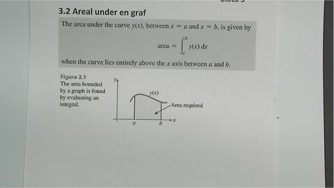 Thumbnail for entry Kapittel 17 3.2-3.3 Areal under en graf