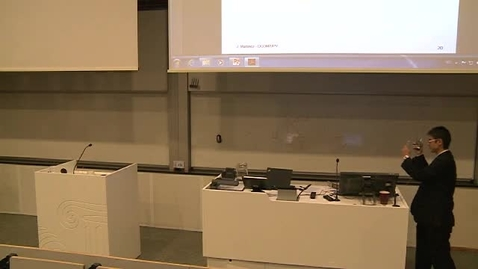 Thumbnail for entry Doktorgradsdisputas Hongzhi Jiao - Del 2