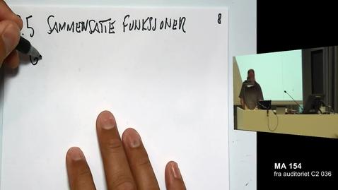 Thumbnail for entry Sammensatte funksjoner 1