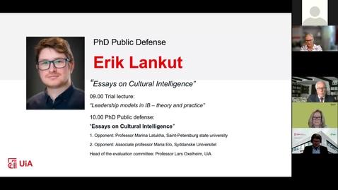 Thumbnail for entry Digital Defense - Erik Lankut