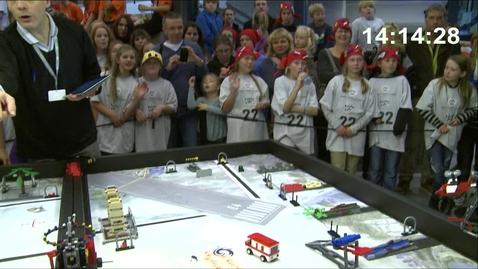 Thumbnail for entry Kvartfinale Robotkjøring