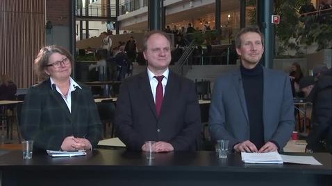 Thumbnail for entry Det nye rektoratet - Rektoratet