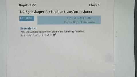 Thumbnail for entry Kapittel 22 1.4 Egenskaper for transformasjoner