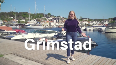 Thumbnail for entry Get to know your student city: Grimstad