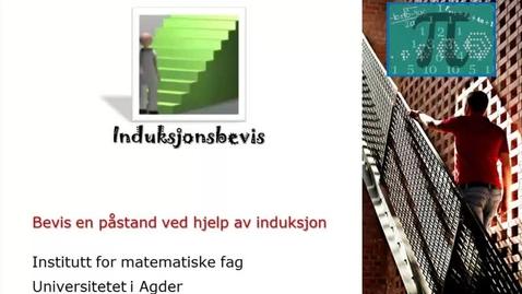 Thumbnail for entry Bevis en påstand ved induksjon - oppgave