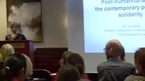 Thumbnail for entry Medieforskerkonferansen 2012 - Lilie Chouliaraki
