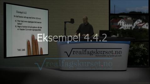 Thumbnail for entry Eksempel 4.4.2