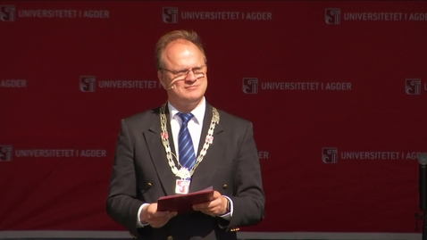 Thumbnail for entry Frank Reichert tale i Grimstad