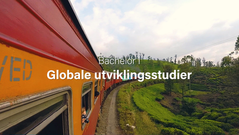 Thumbnail for entry Globale utviklingsstudier - bachelor