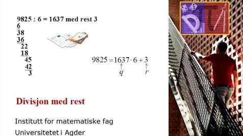 Thumbnail for entry Divisjon med rest - Oppgave
