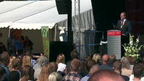 Thumbnail for entry Studiestart 2016 Grimstad - Frank Reichert