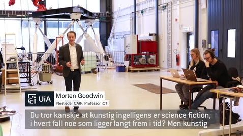 Thumbnail for entry Lær om kunstig intelligens - ta en master i IKT ved Universitetet i Agder
