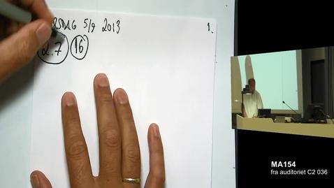 Thumbnail for entry Oppgave 2.7.16 - Anvendelse av den deriverte