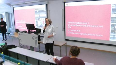 Thumbnail for entry Seminar om veiledningsteknologi_3