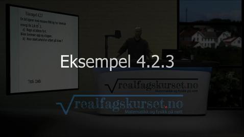Thumbnail for entry Eksempel 4.2.3