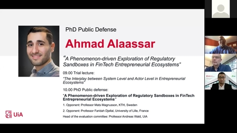 Thumbnail for entry Digital Defense - Ahmad Alaassaar 28-06-2021