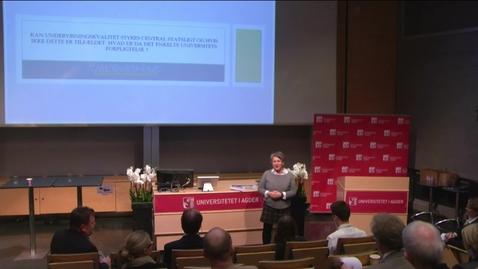 Thumbnail for entry Professor Hanne-Kathrine Krogstrup