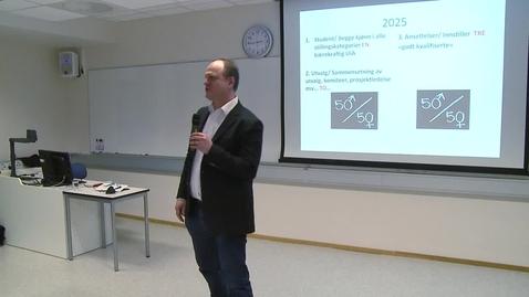 Thumbnail for entry Strategiprosessen - 10 years ahead - Konklusjon og svar fra workshop (03.02.16)