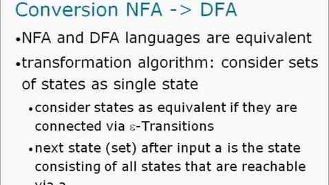 Thumbnail for entry NFA2DFA