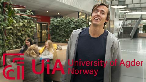Thumbnail for entry UiA: Mitt studiested - 102sek - Engelsk-versjon