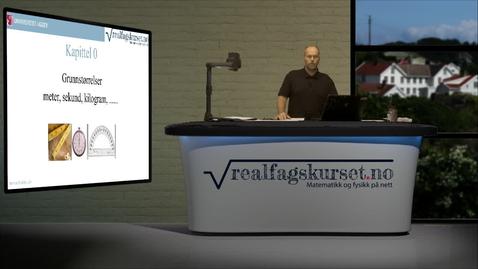 Thumbnail for entry Kapittel 0 - Grunnstørrelser