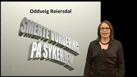 Thumbnail for entry EVU - Avansert sykepleie Smertebehandling 1