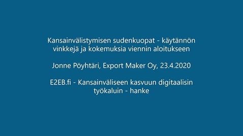 Thumbnail for entry E2EB_loppusemma_JonnePöyhtäri_ExportMaker