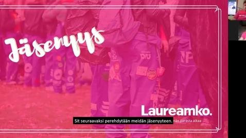 Thumbnail for entry Laureamko-info osa 3, jäsenyys (kaikille) kevät 2021