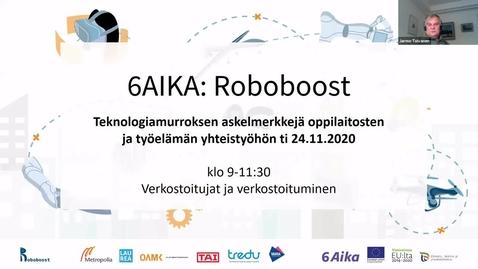 Thumbnail for entry Jarmo Toivanen: Yksilö muuttuvassa verkostoituvassa työympäristössä