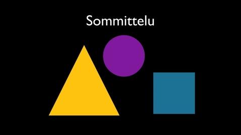 Thumbnail for entry Sommittelu