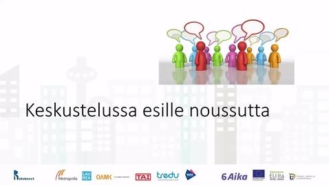 Thumbnail for entry Pasi Lankinen: Johdatusta työnohjaukseen ja oman työn tutkimiseen