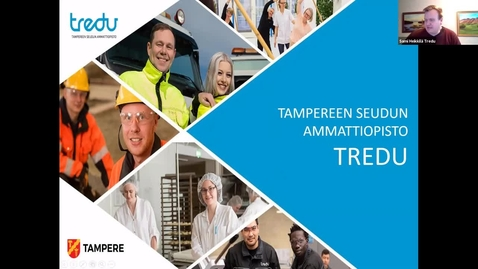 Thumbnail for entry Sami Heikkilä, Tredu: TKI-kumppanuuksien rakentaminen