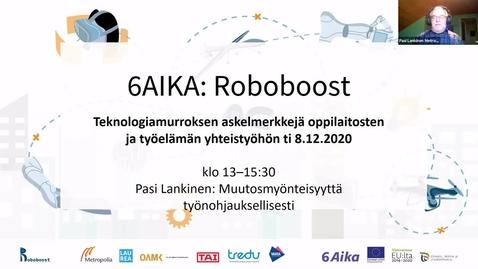 Thumbnail for entry Pasi Lankinen: Muutosmyönteisyyttä työnohjauksellisesti