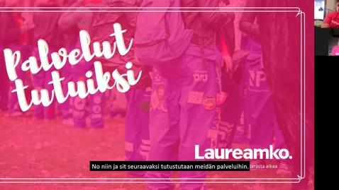Thumbnail for entry Laureamko-info osa 2, palvelut (monimuoto-opiskelijoille)
