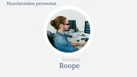 Husulanmäen persoonat: Roope