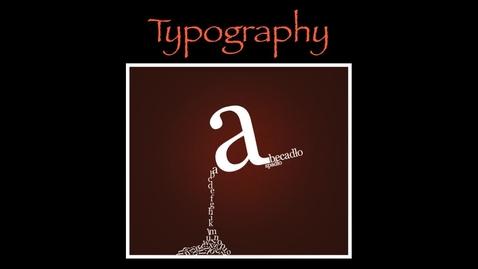Thumbnail for entry Typografia