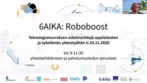 Thumbnail for entry Mikael Seppälä: Teknologiamurros ja työn sekä oppimisen muutos