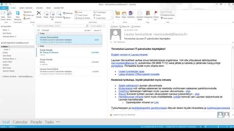 Thumbnail for entry Massaposti ja Bcc-kentän käyttö Outlookissa