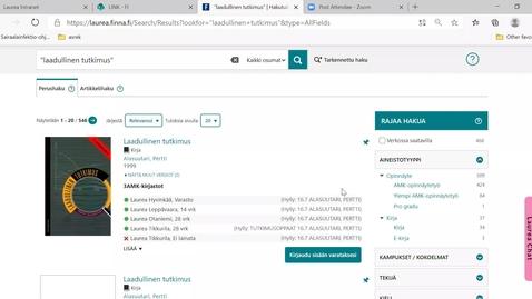 Thumbnail for entry lohja hoitotyö