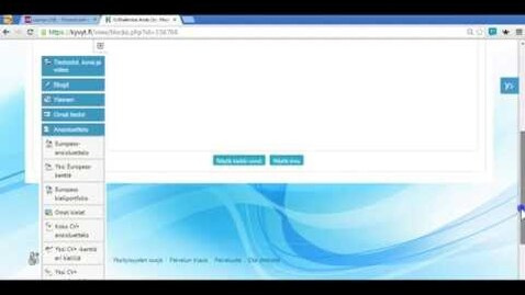 Thumbnail for entry Portfoliosivun luominen Kyvyt.fi palvelussa