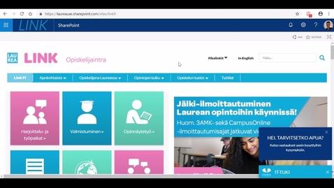 Thumbnail for entry Perehdytys: Näin löydät työharjoittelupaikat LINK:istä