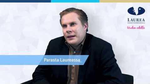 Thumbnail for entry Antti Seppinen kertoo opiskeluajastaan Laurea-ammattikorkeakoulussa