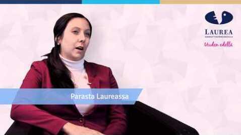 Thumbnail for entry Anette Karlsson kertoo opintojen aikana luoduista verkostoista