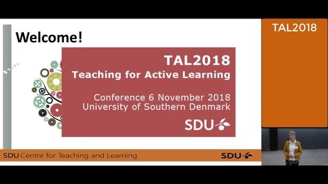 Thumbnail for entry Welcome to the TAL2018 Conference