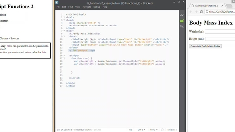 Thumbnail for entry JS Functions 2